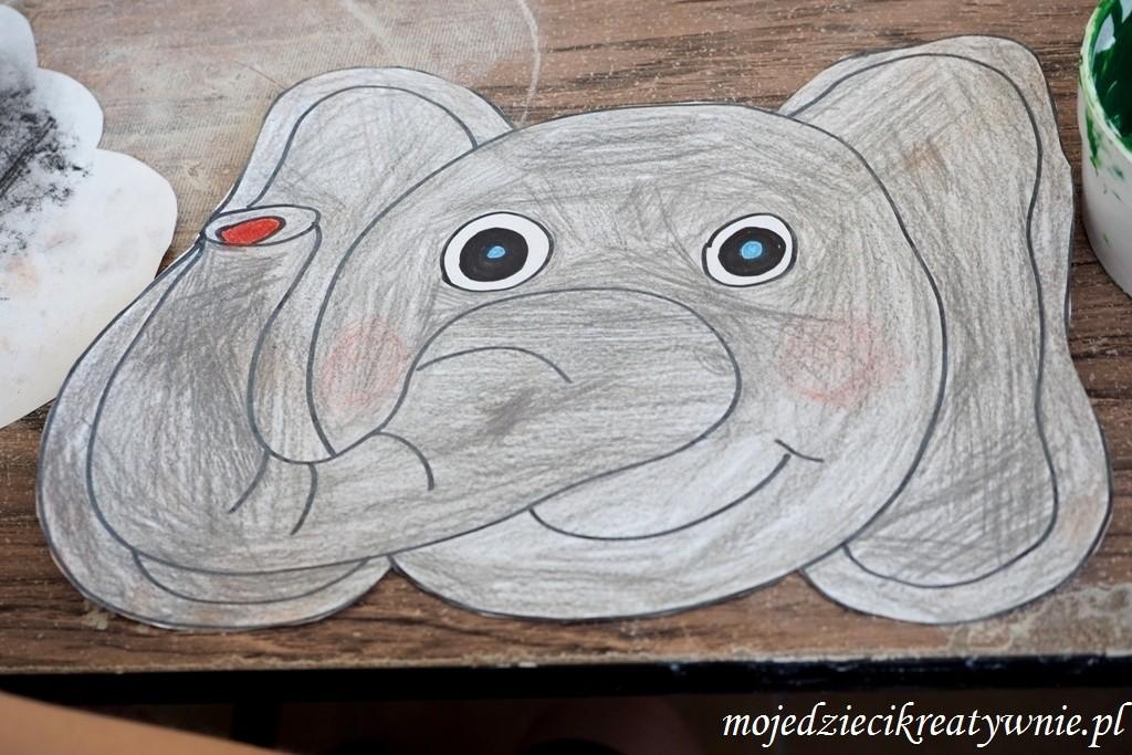 maska slonia