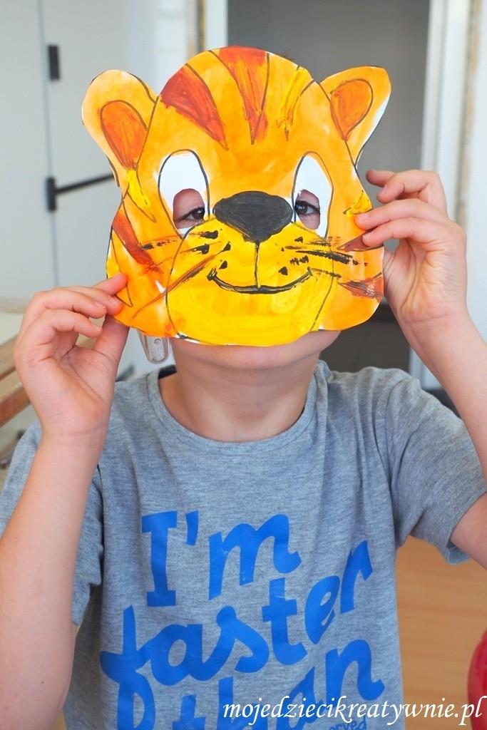 maska tygrysa