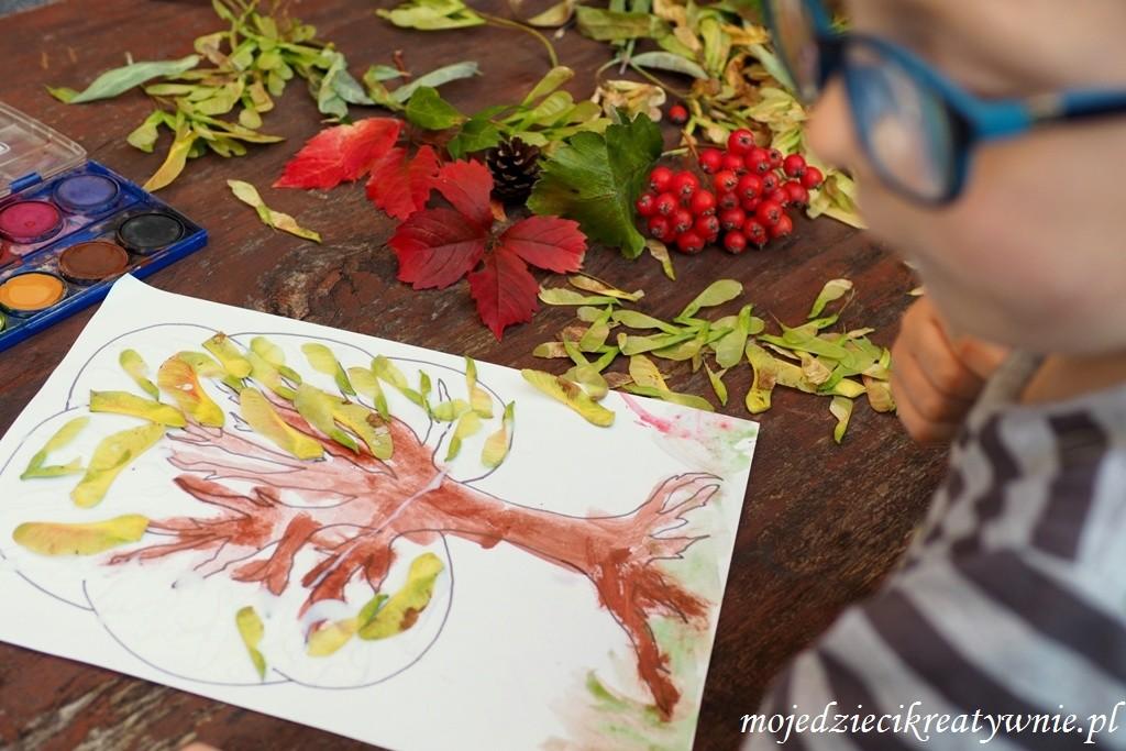 prace plastyczne jesien przedszkole
