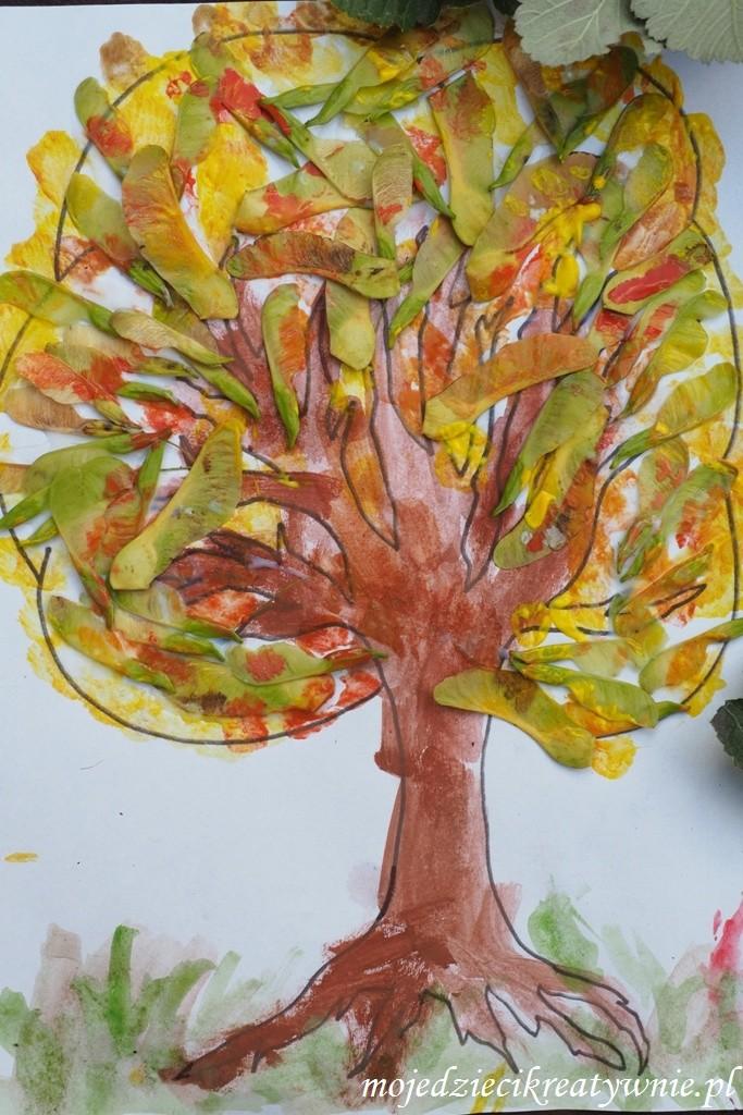 pomysly na prace plastyczne jesien
