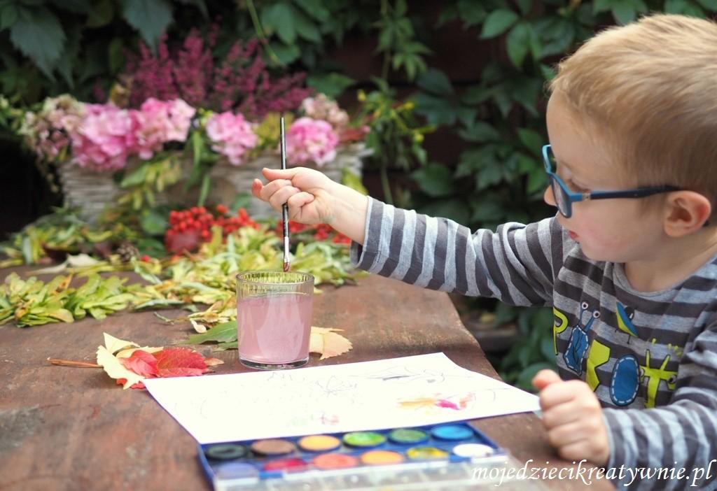 jesienne prace plastyczne dla dzieci