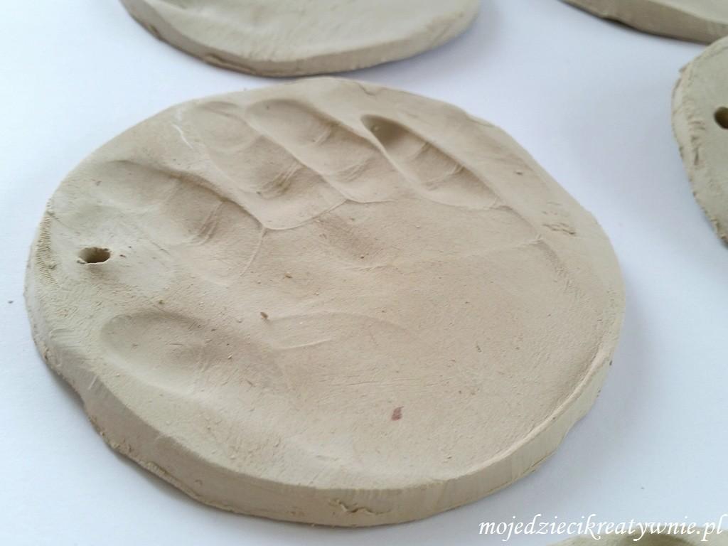 odciski dłoni