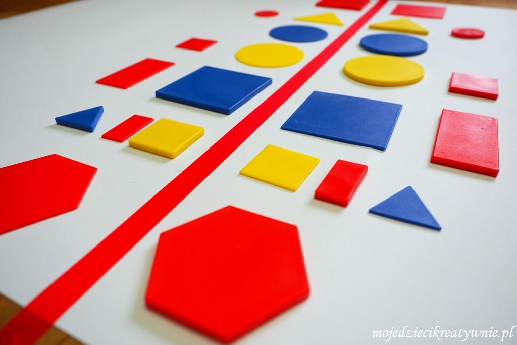 Symetryczna zabawa dla dzieci