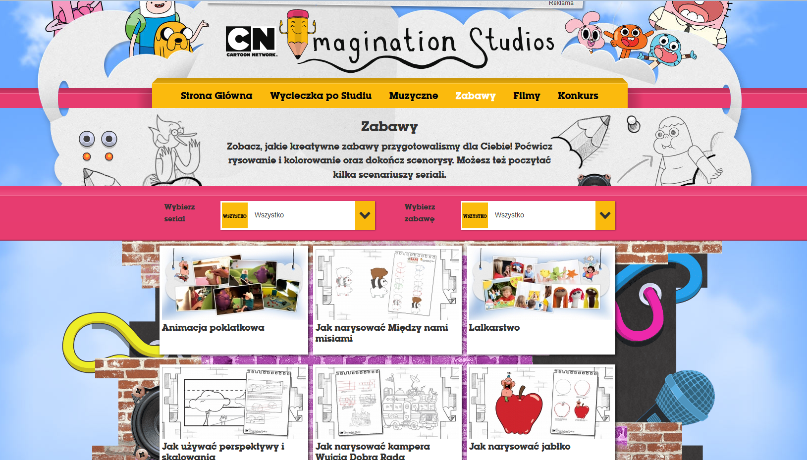 studio wyobrazni cartoon network