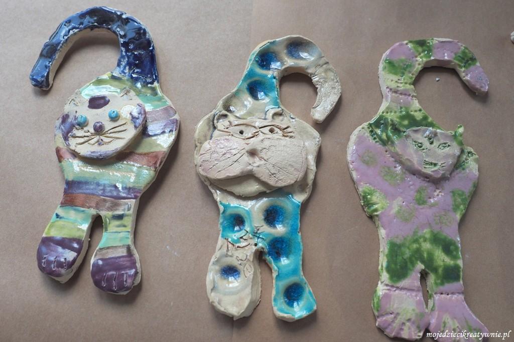 koty z ceramiki