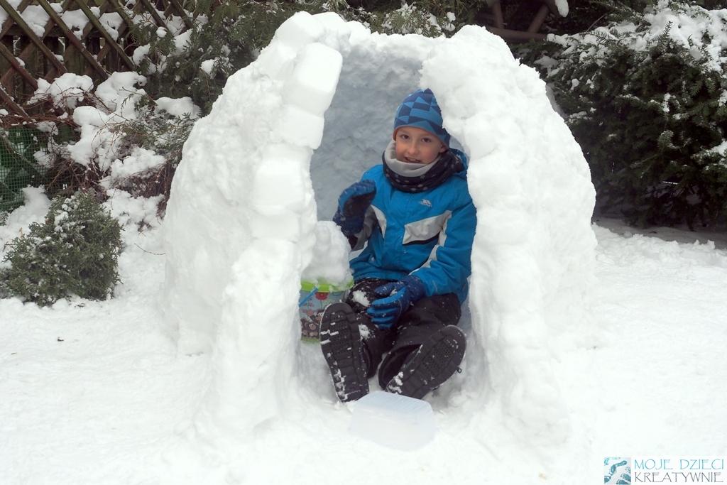 Jak zbudować Igloo ze śniegu