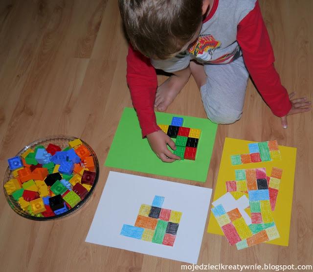 zabawy dla dzieci w domu przedszkolu trzylatka czterolatka kreatywnie