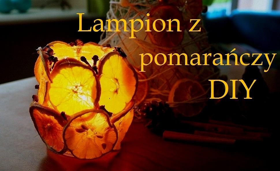 lampion z pomaranczy