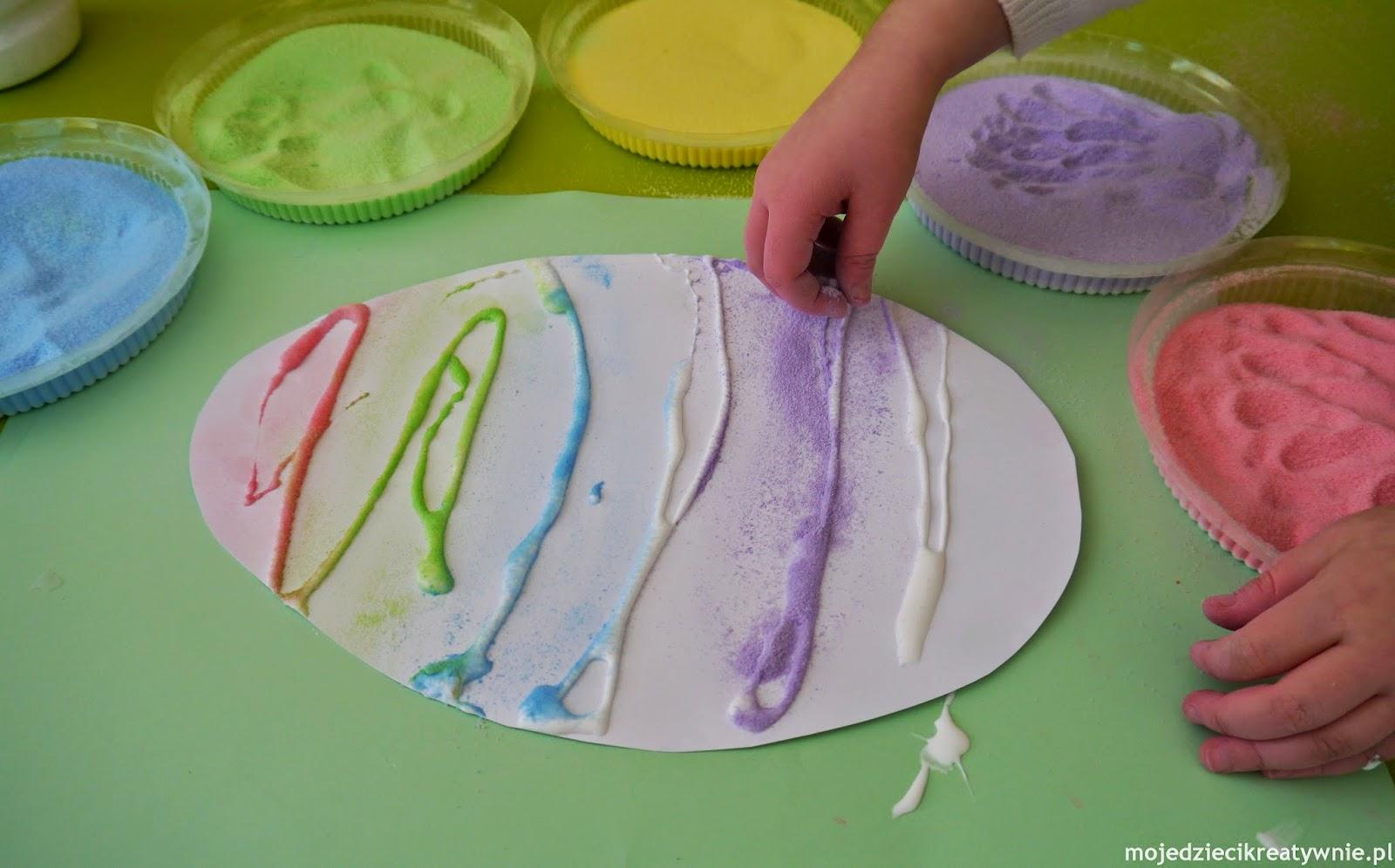 pisanki technicki zdobienia solne barwienie wielkanoc prace plastyczne