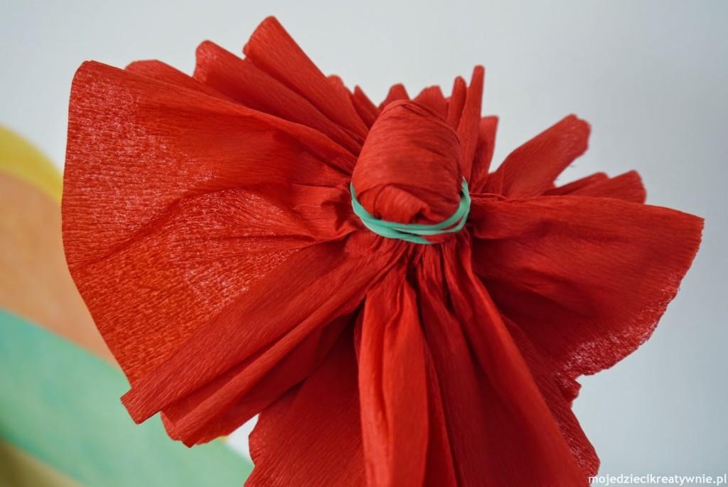 Kwiaty Z Bibuly Diy Moje Dzieci Kreatywnie