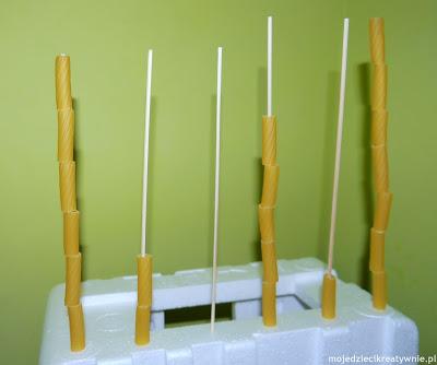 Makaronowe konstrukcje - Moje Dzieci Kreatywnie