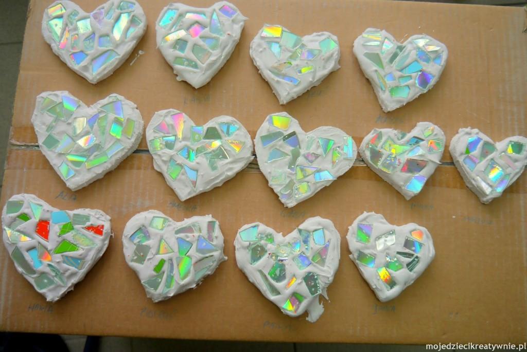 Tęczowe Serca Moje Dzieci Kreatywnie