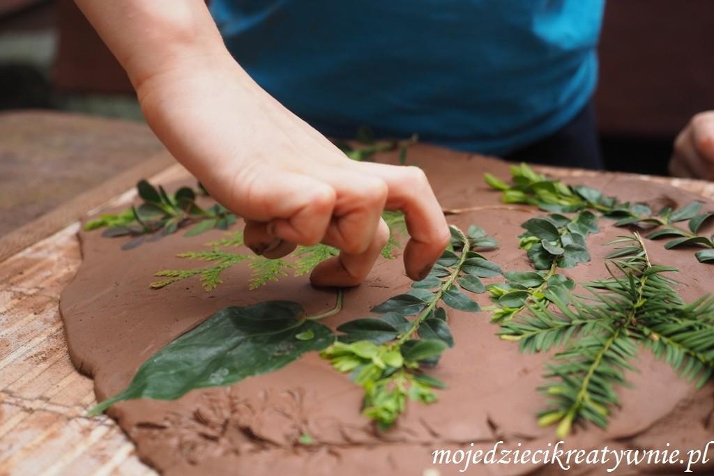 ceramika dla dzieci kreatywne dzieci glina zabawy prace plastyczne