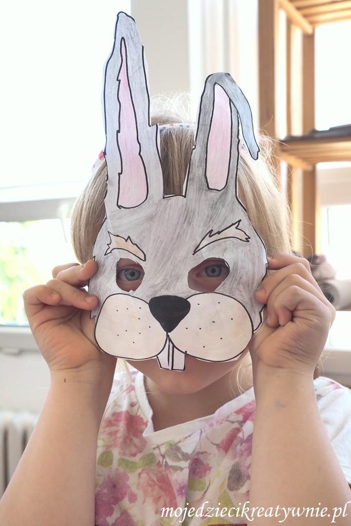 maski dla dzieci do druku