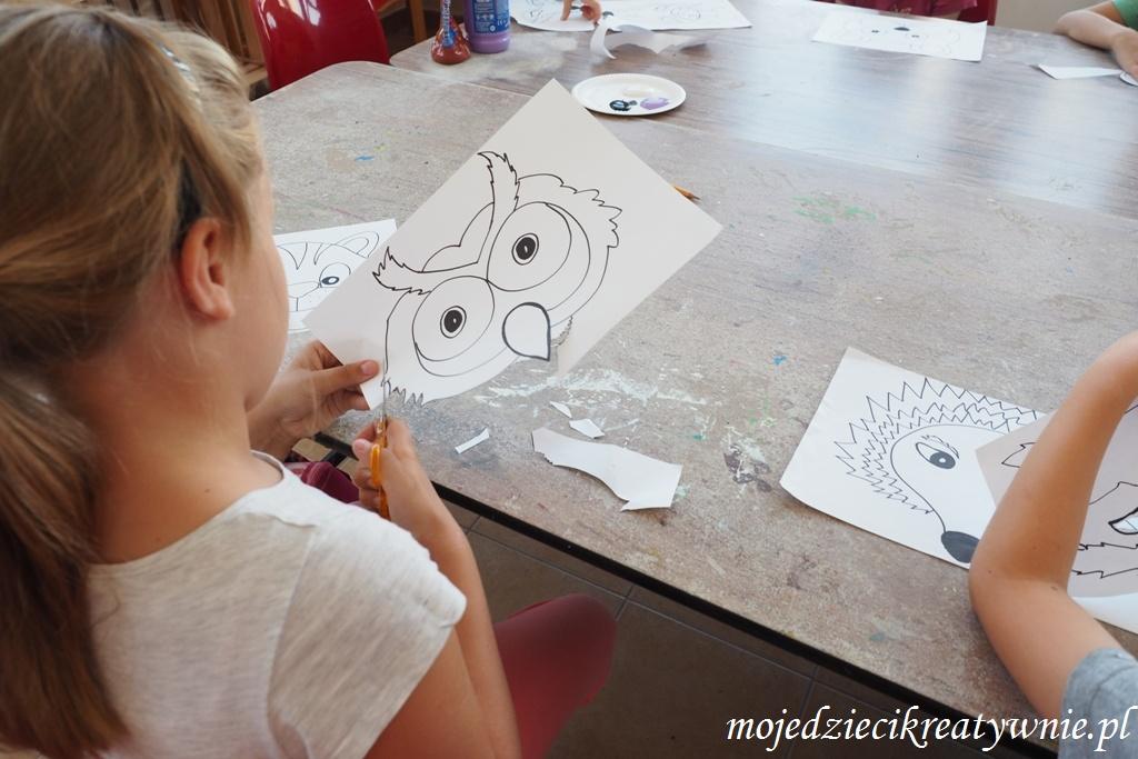 Maski Zwierząt Do Wydruku Moje Dzieci Kreatywnie