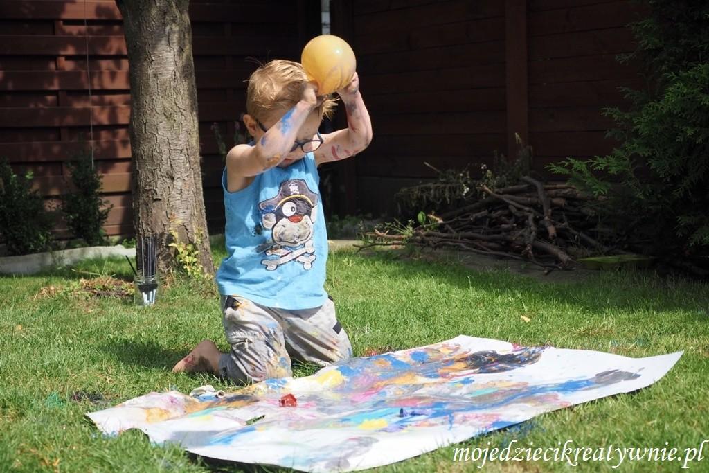 malowanie balonami