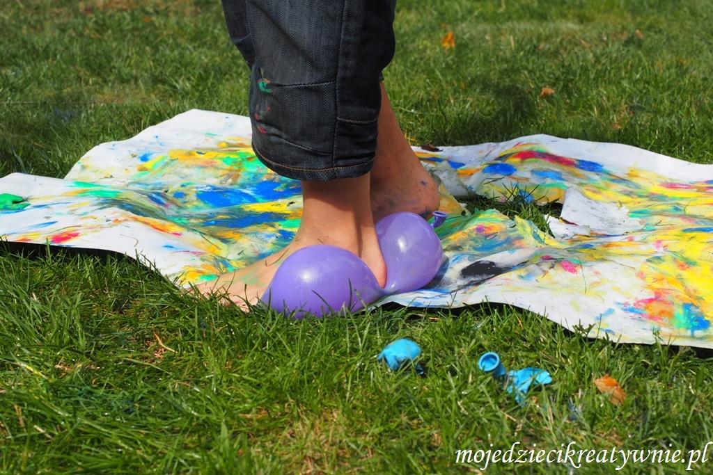 balony zabawy eksperymenty dla dzieci kreatywnie