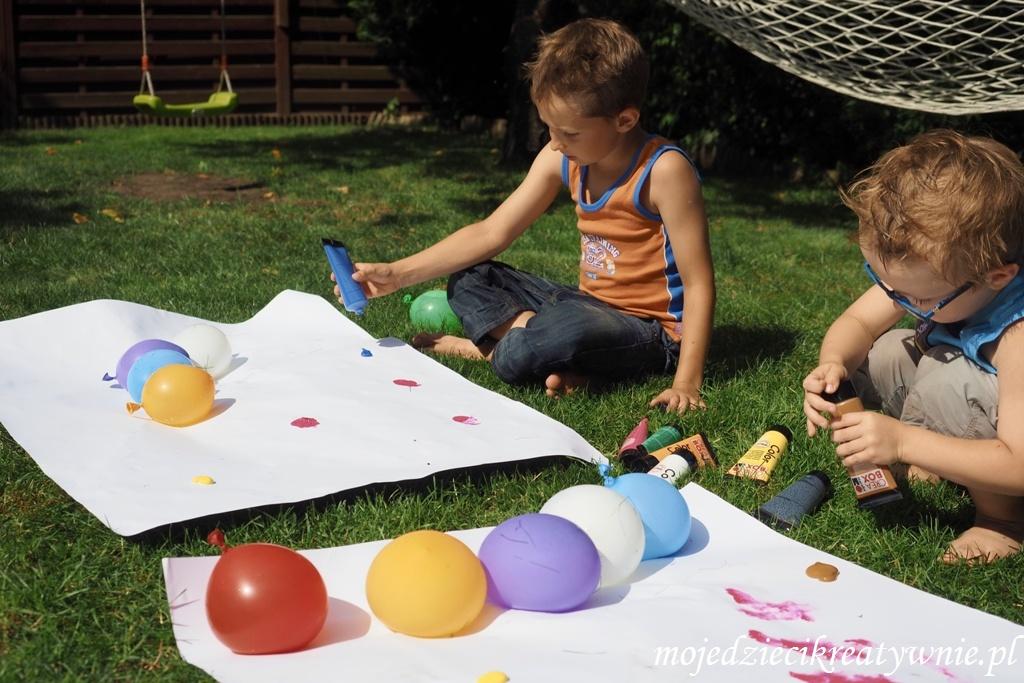 balony zabawy eksperymenty dla dzieci
