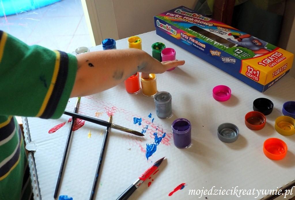 jakie farby dla dziecka