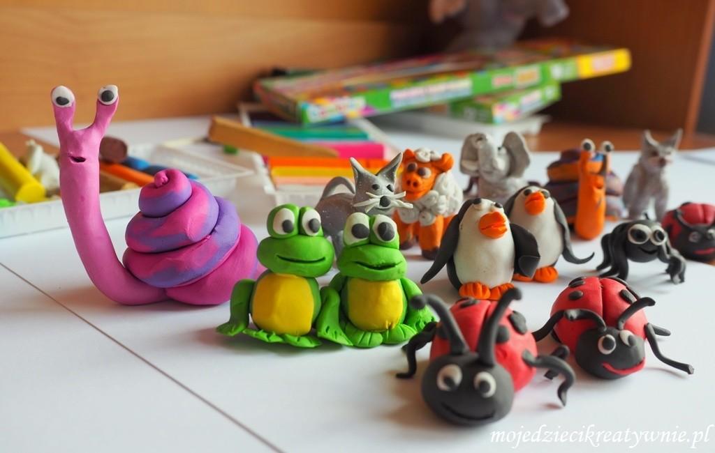 zabawy dla 2 latka 3 dwulatka trzylatka lepinie z plasteliny figurki kreatywnie w domu przedszkolu