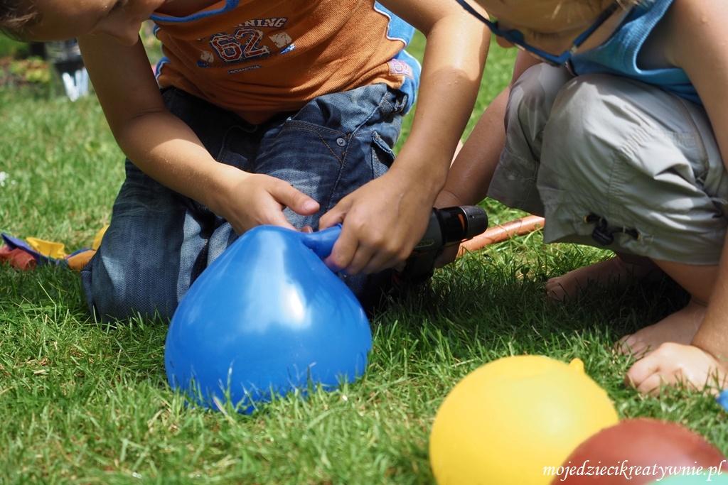balonowe i wodne zabawy