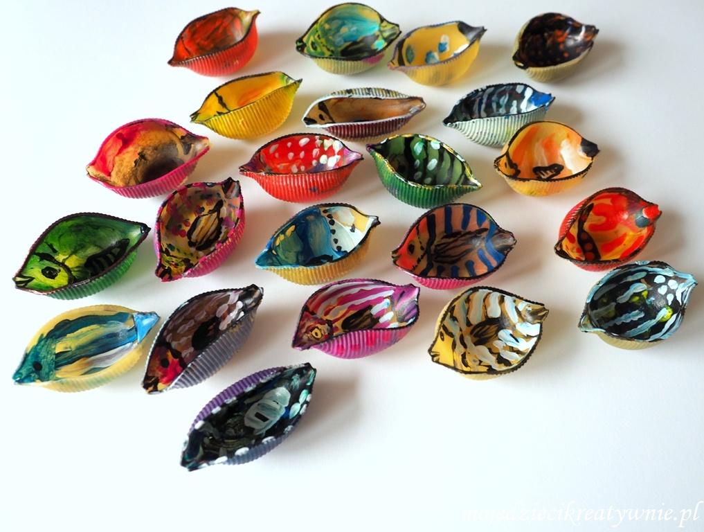 rybki z makaronu