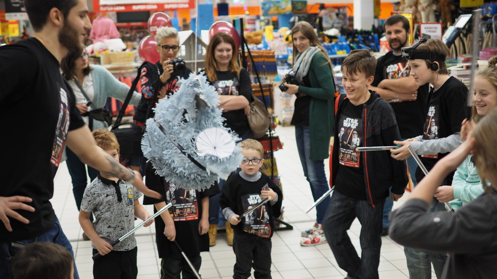 star wars carrefour event