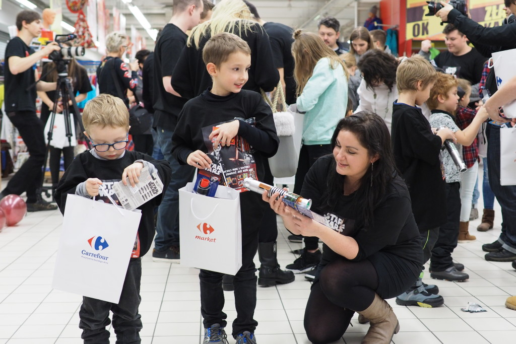 star wars event carrefour