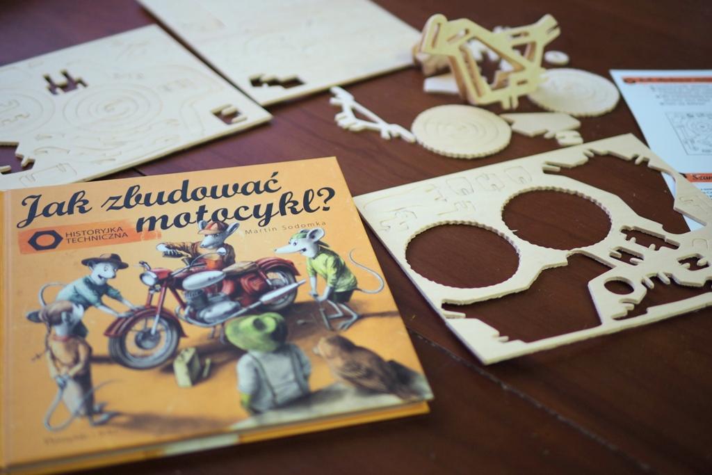 jak zbudowac motocykl ksiazki dla dzieci