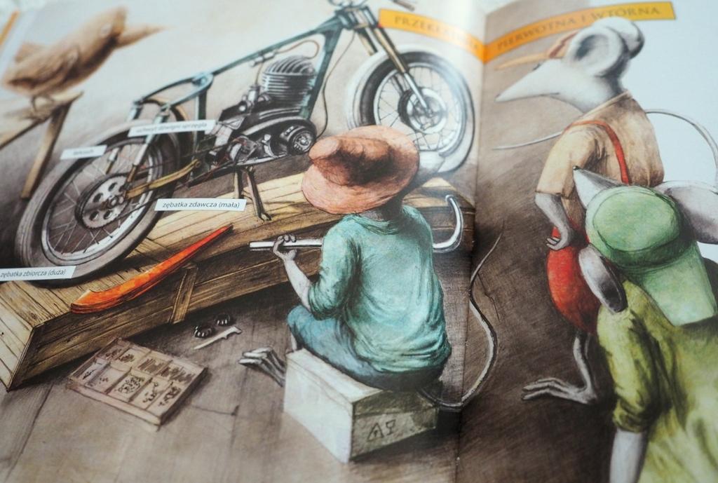 jak zbudowac motocykl ksiazeczki dla dzieci recenzje opinie ksiazki