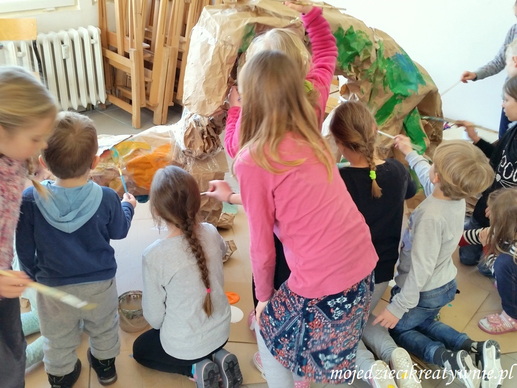 prace plastyczne dla grupy dzieci