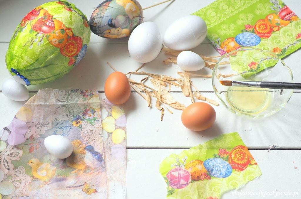 pisanki diy dekorowanie pisanek wielkanocne prace plastyczne