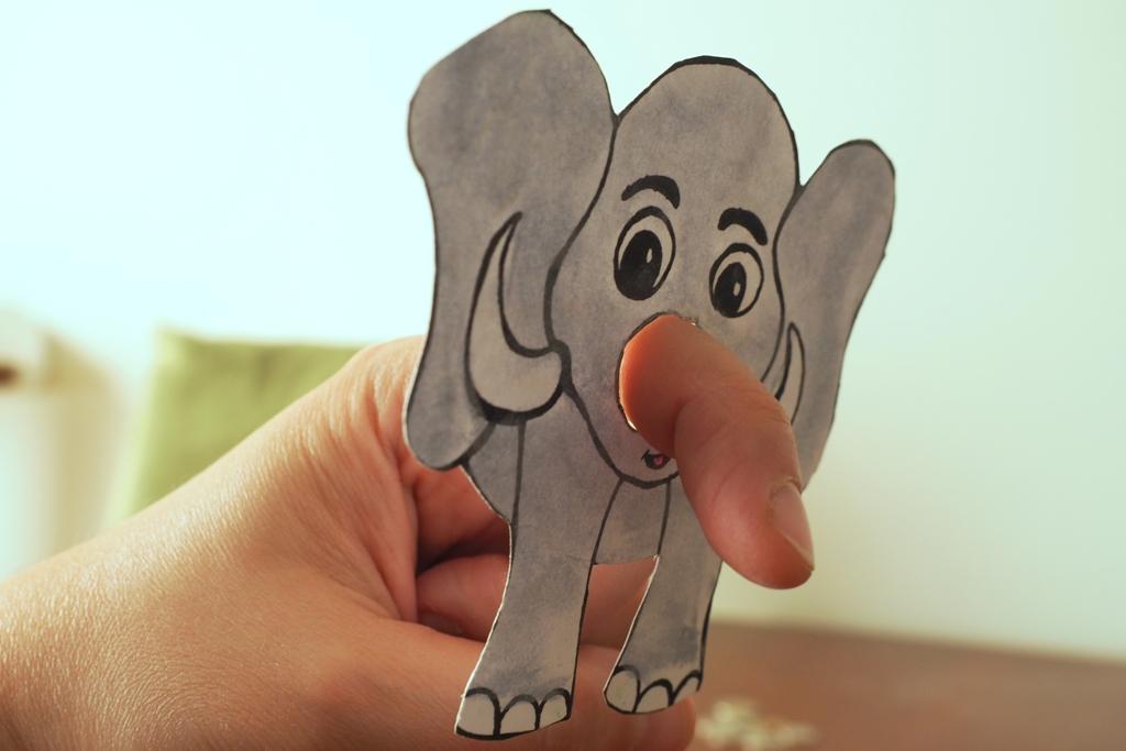 jak narysowac slonia