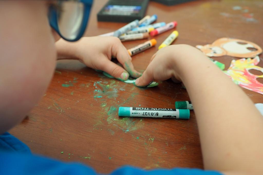 pastele dla dzieci