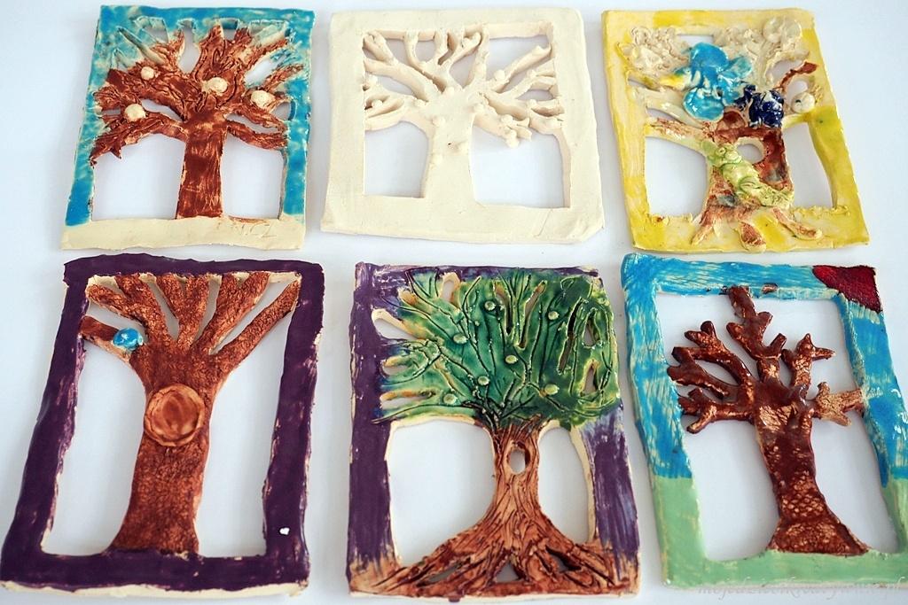 ciekawe prace plastyczne drzewa
