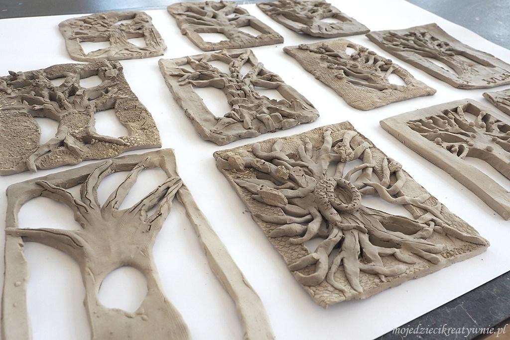 masa solna przepis drzewa z gliny cermika warsztaty dla dzieci prace plastyczne