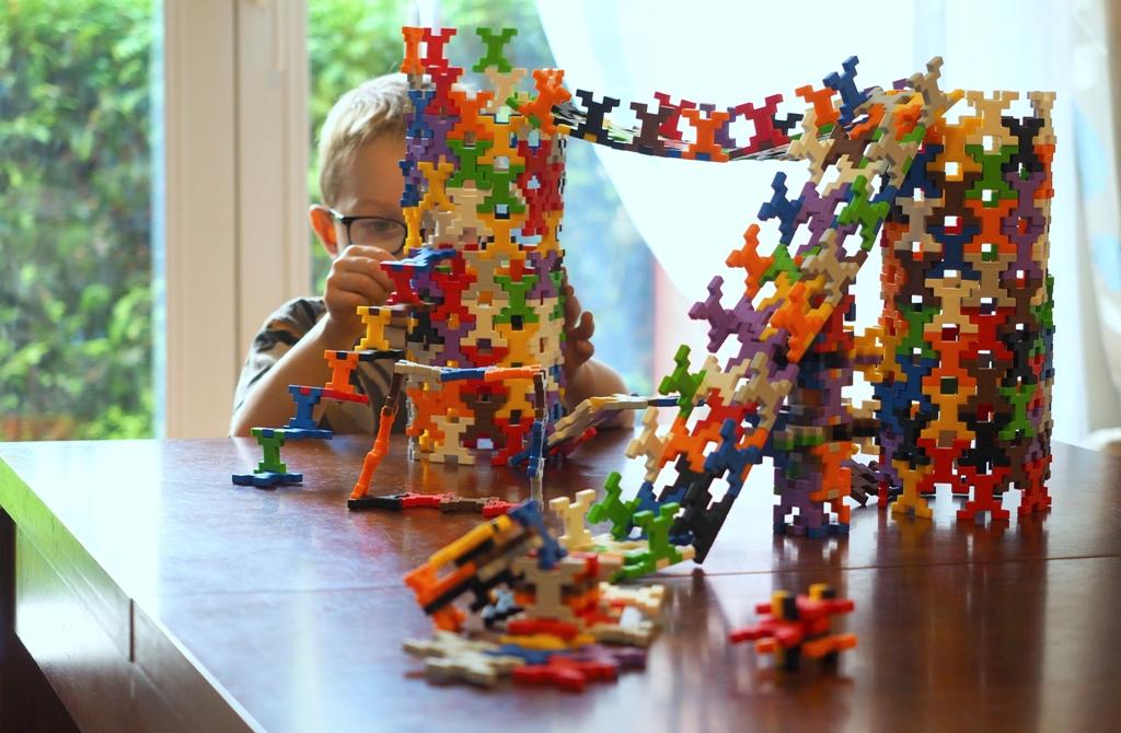 klocki dla dzieci geomag konstrukcyjne plastikowe