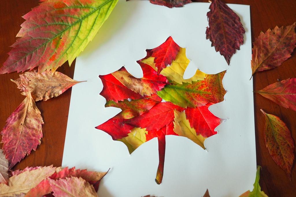 prace plastyczne jesien