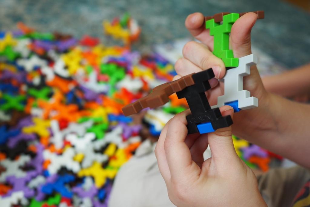 kreatywne klocki dla dzieci konstrukcyjne plastikowe najlepsze edukacyjne