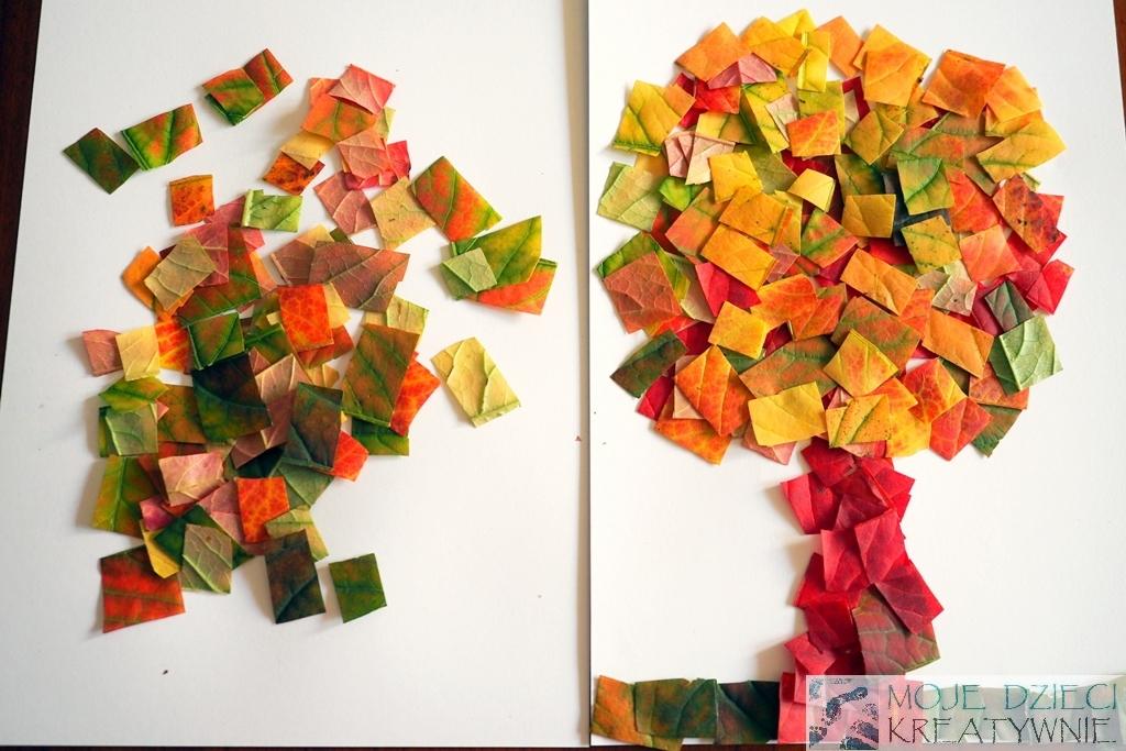 jesien prace plastyczne