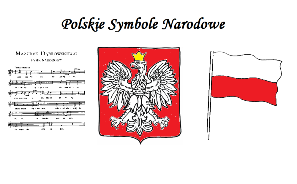 Znalezione obrazy dla zapytania symbole narodowe polski
