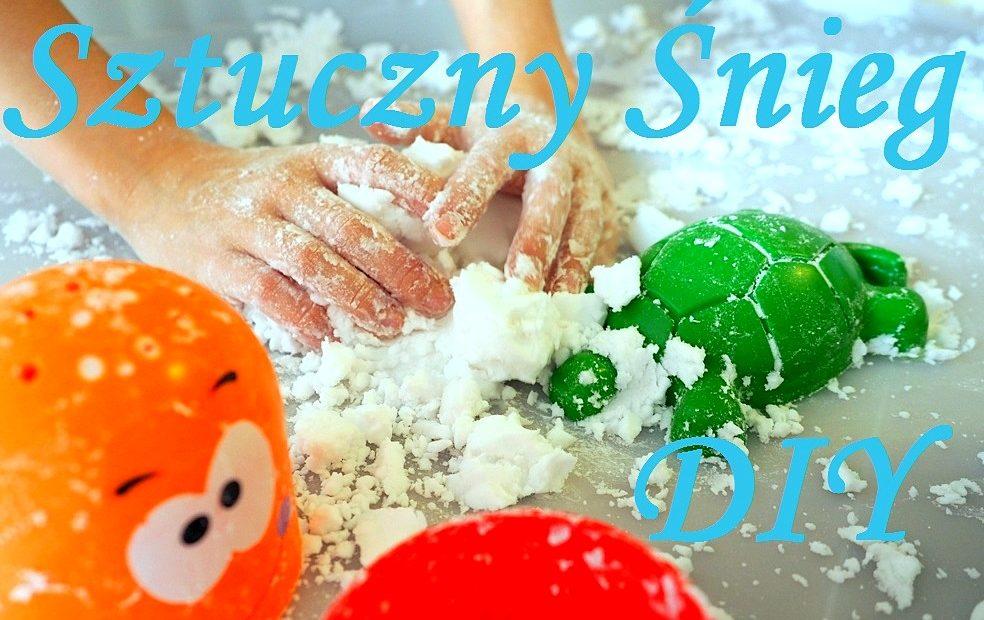 jak zrobic sztuczny snieg