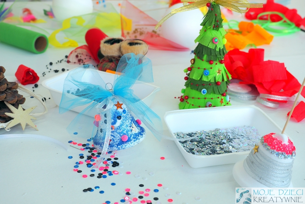 Dekoracje świąteczne Dla Dzieci Moje Dzieci Kreatywnie