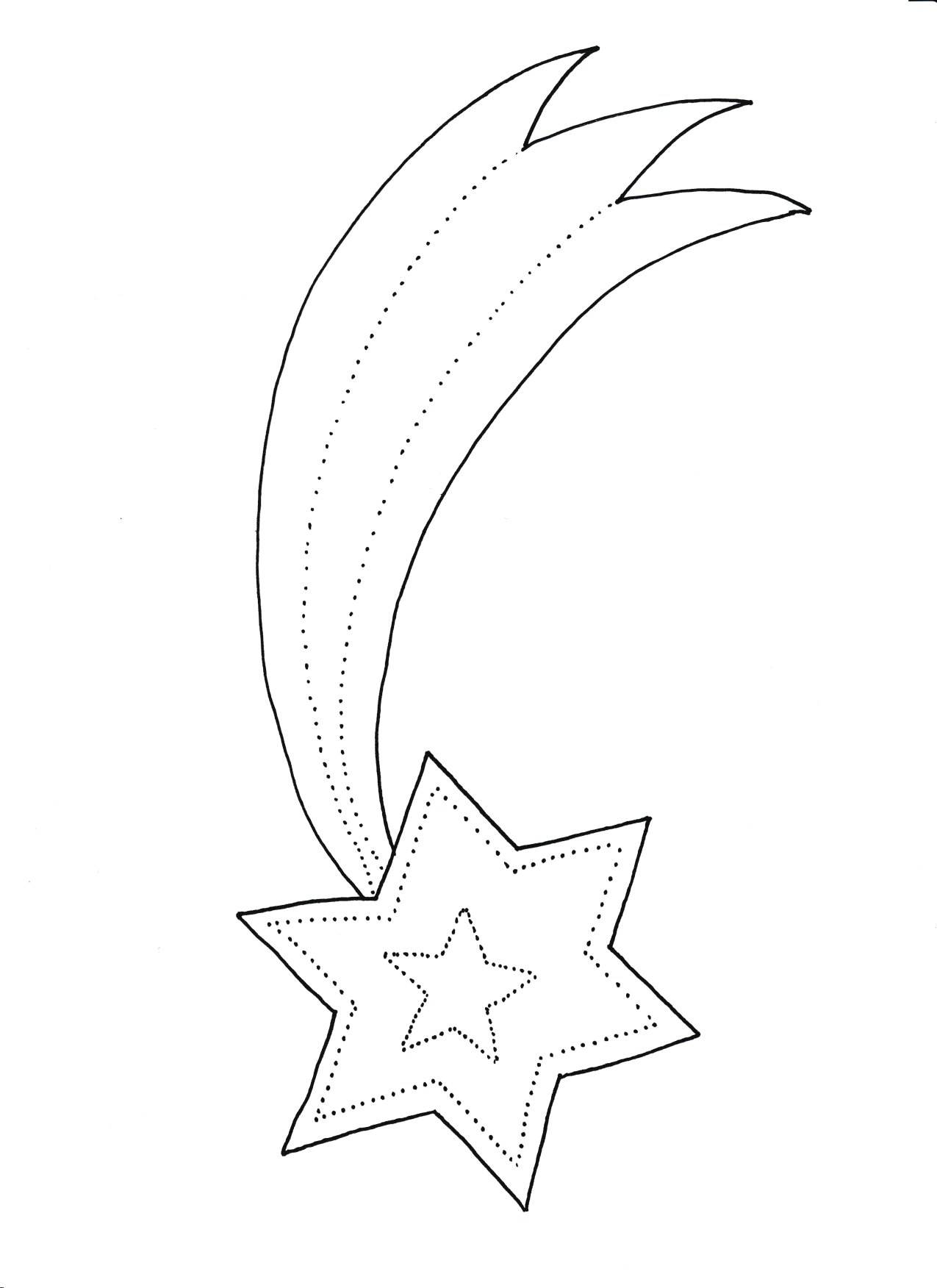 kart pracy święta, gwiazda betlejemska kolorowanka, szablon do druku