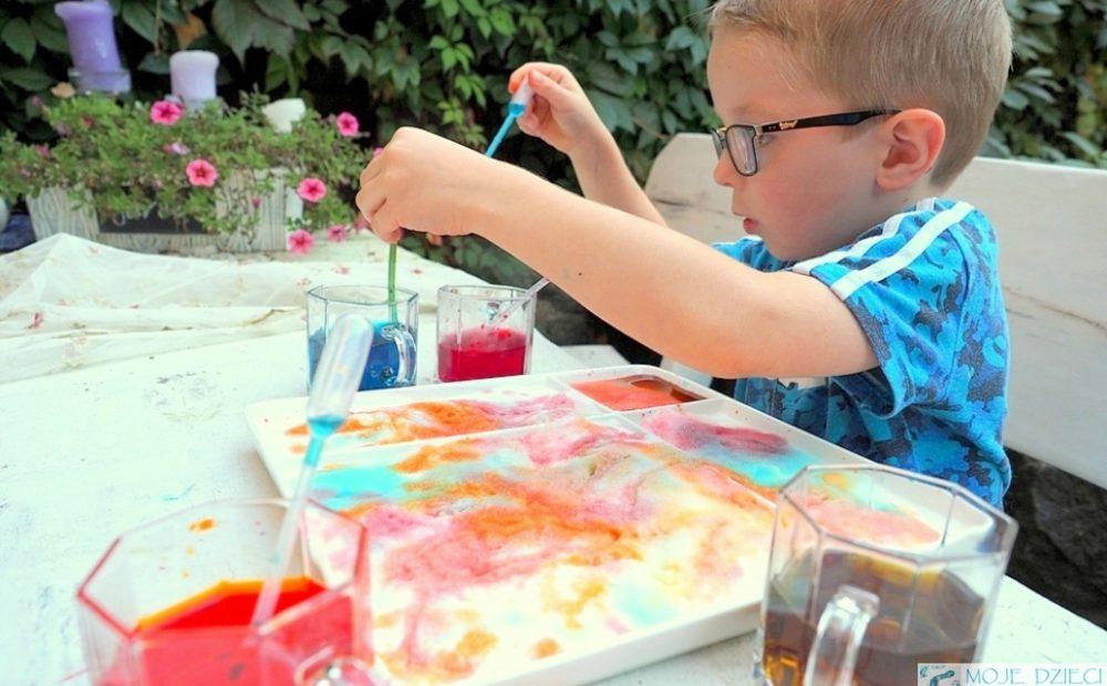 malowanie na soli