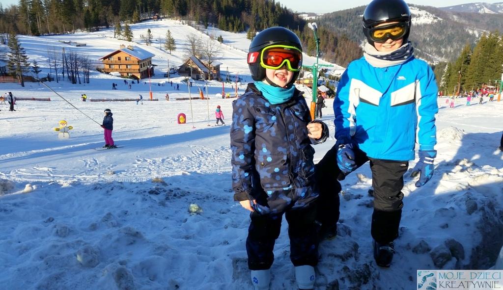 narty z dziecmi gdzie