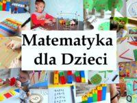 dziecięca matematyka dla dzieci, moje dzieci kreatywnie