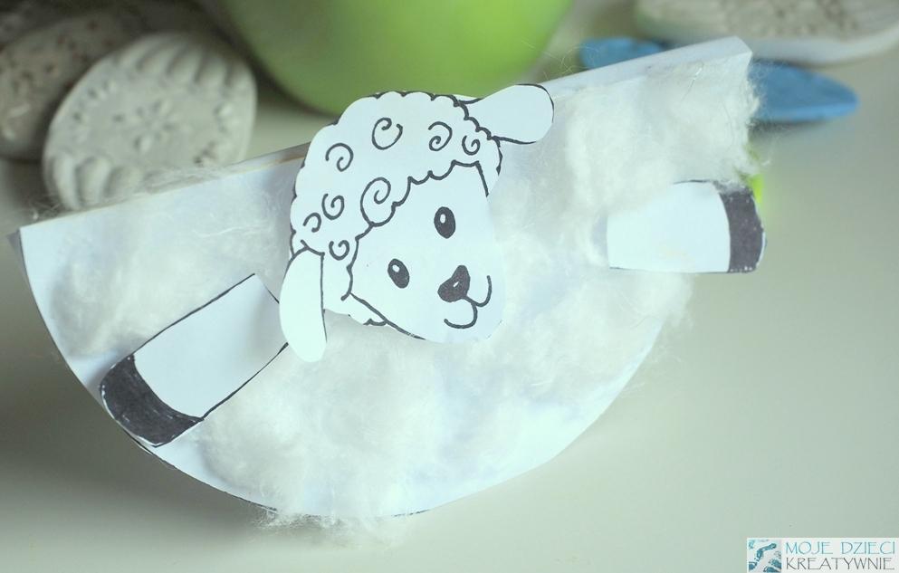 baranek praca plastyczna wielkanoc z papieru łatwe pisanki baranki do kolorowania kolorowanki jajka do druku wielkanoc prace plastyczne szablony
