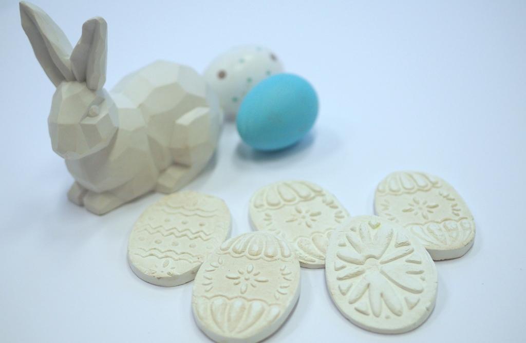 Wielkanocne Dekoracje Z Masy Porcelanowej Moje Dzieci Kreatywnie