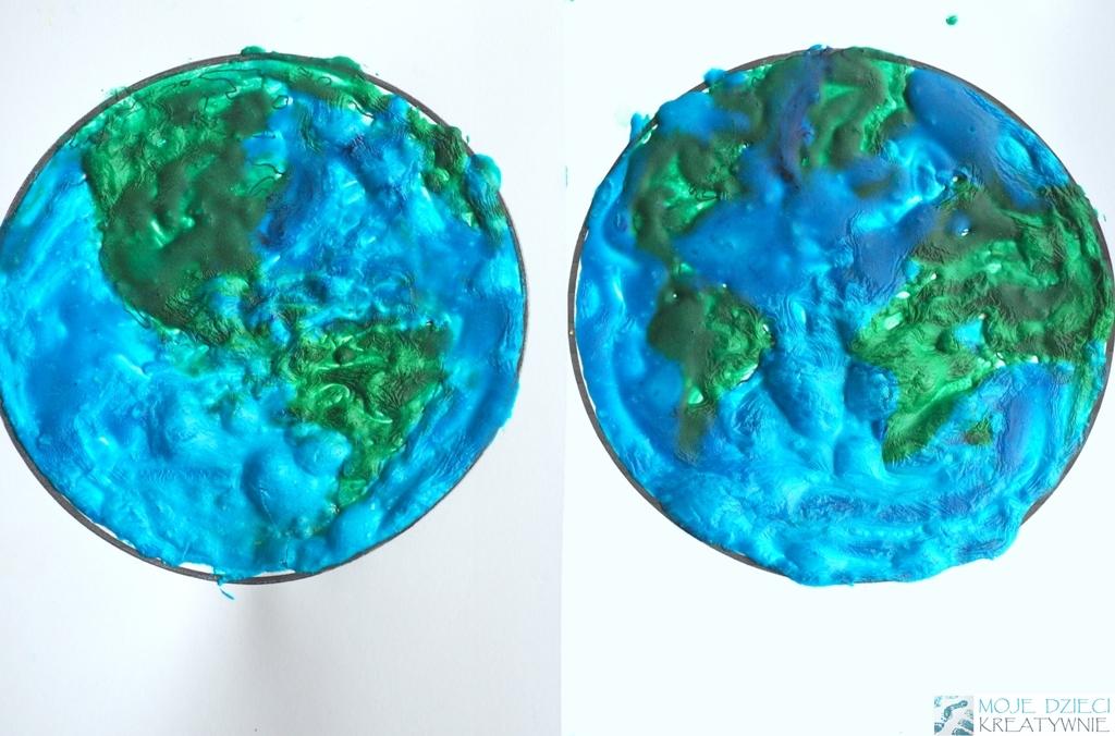 planeta ziemia prace plastyczne